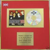 "BACKSTREET BOYS - CD Album Award - ""BACKSTREET BOYS"